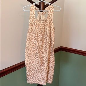 Little girls leopard print dress